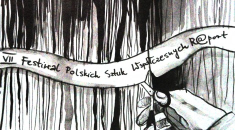 """7. Festiwal Polskich Sztuk Współczesnych R@Port - GAZETA FESTIWALOWA """"FORA NOVA"""""""