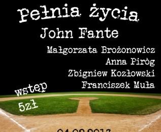 """JOHN FANTE – """"Pełnia życia"""" odc. 1 już 4 lutego!"""