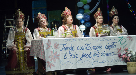 """Fotorelacja z """"BABA CHANEL"""" w Teatrze Polonia"""