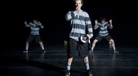 Teatr tańca o piłce nożnej