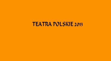 Podsumowania sezonu teatralnego