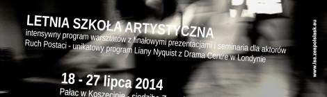 Ruch Postaci z Lianą Nyquist – warsztaty dla aktorów