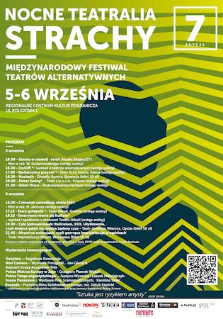 Plakat Nocne Teatralia Strachy