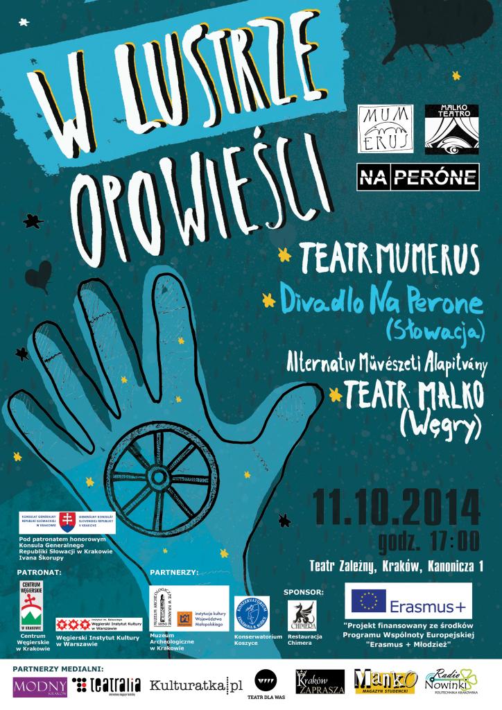 plakat_ W lustrze opowiesci_plakat autorstwa Tetyany Tsyupki i Aleksandra Maksymowa