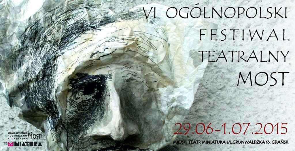 plakat Festiwal MOST 2015
