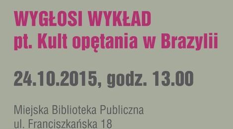 Wykład w ramach Alchemii teatralnej - 24.10 w Świdnicy