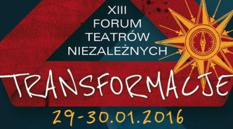 29-30.01 XIII Forum Teatrów Niezależnych w Świdnicy