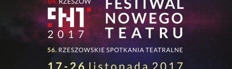 """Gazeta Festiwalowa """"Rec. Magazine"""" (Festiwal Nowego Teatru, Rzeszów 17-26.11.2017)"""