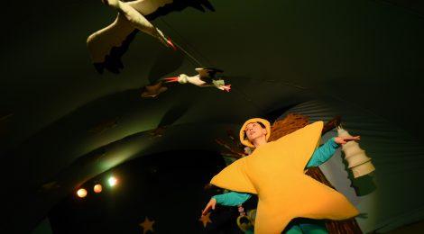 Najnaje na widowni, czyli jak zauroczyć teatrem (Gwiazdka z nieba)